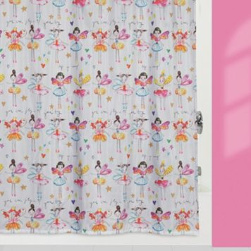 Creative Bath Faerie Princesses Fabric Shower Curtain