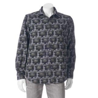 Men's Woolrich Tiadaghton Print Button-Down Shirt