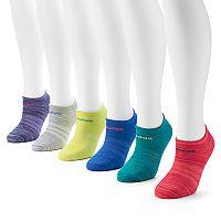 adidas 6-pk. Bright superlite & climalite No-Show Socks - Women