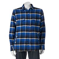 Men's Woolrich Oxbow Plaid Flannel Shirt Jacket