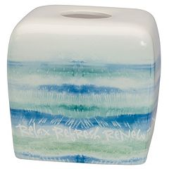Kathy Davis Splash Tissue Box Cover