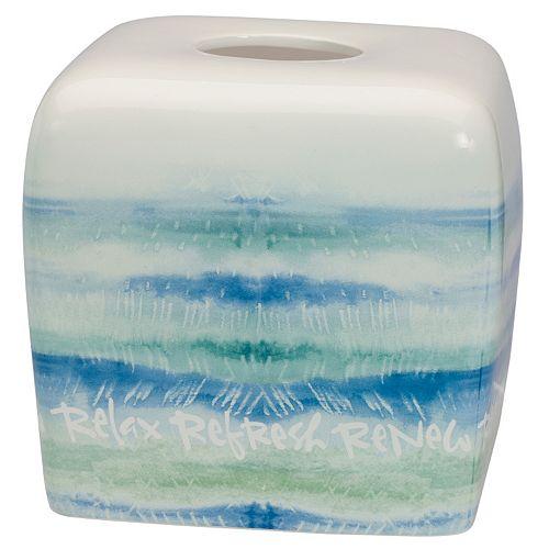 Kathy Davis Splash Tissue Box Cover