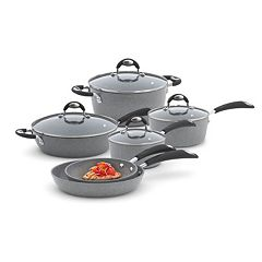 Bialetti Granito 10-pc. Nonstick Aluminum Cookware Set