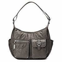 Rosetti Riveting Seams Convertible Hobo Bag