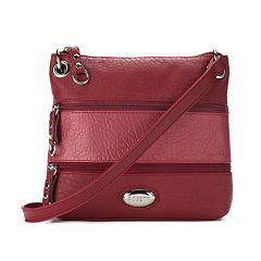 Rosetti Demi Zips Colorblock Crossbody Bag