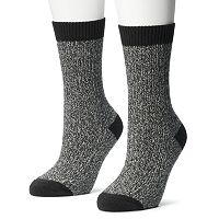 Columbia 2 pkMarled Crew Socks - Women