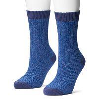 Columbia 2 pkMarled Crew Socks - Women