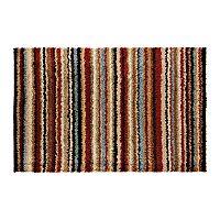 Surya Concepts Striped Shag Rug