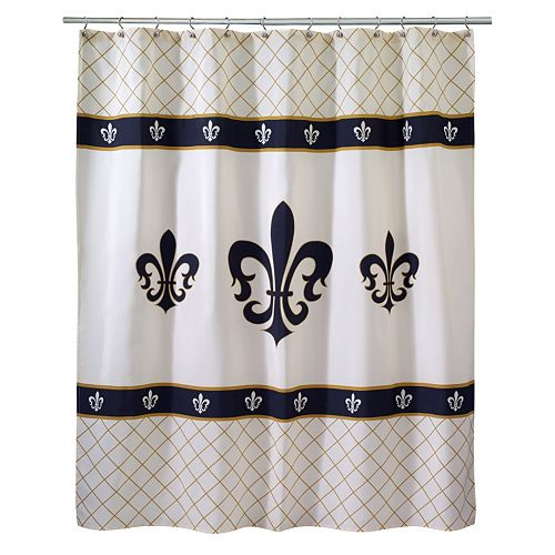 Luxembourg Fabric Shower Curtain