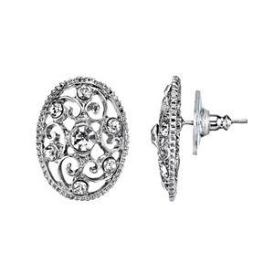 2e2c8a62a Sale. $15.00. Regular. $20.00. 1928 Simulated Crystal Filigree Oval Stud  Earrings. Sale. $21.00. Regular. $28.00. 1928 Nickel Free Faceted Stone ...