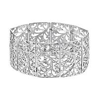 1928 Filigree Stretch Bracelet