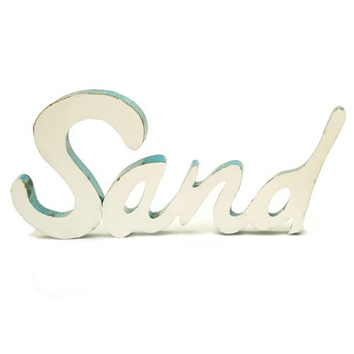 Rustic Arrow ''Sand'' Wall Decor