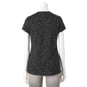 Women's Apt. 9® Modern Essential Space-Dyed Tee