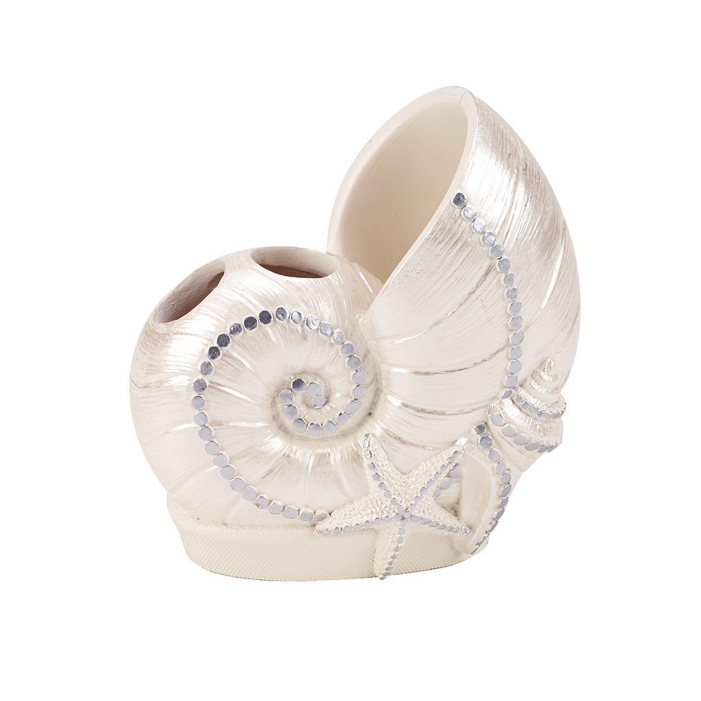 Sequin Shells Toothbrush Holder