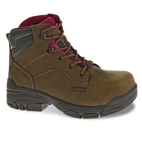 Wolverine Merlin 6 Women's Waterproof Composite-Toe Work Boots