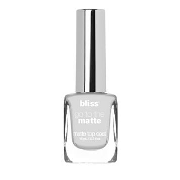 bliss Go To The Matte Matte Top Coat Nail Polish