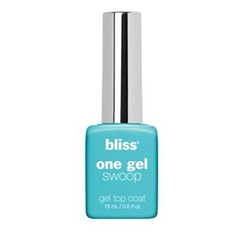 bliss One Gel Swoop Gel Top Coat Nail Polish