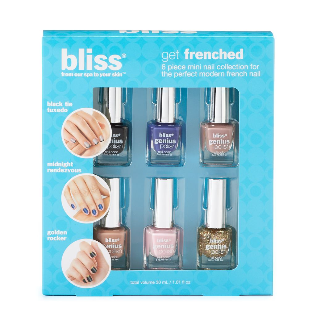 bliss Get Frenched 6-pc. Mini Nail Polish Collection Gift Set