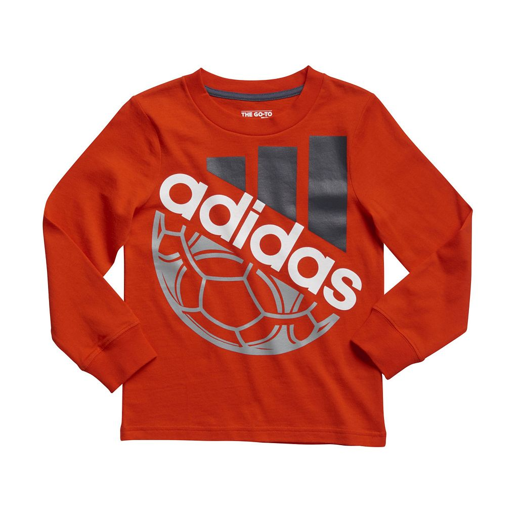 adidas Boys 4-7x Go-To Sports Tee