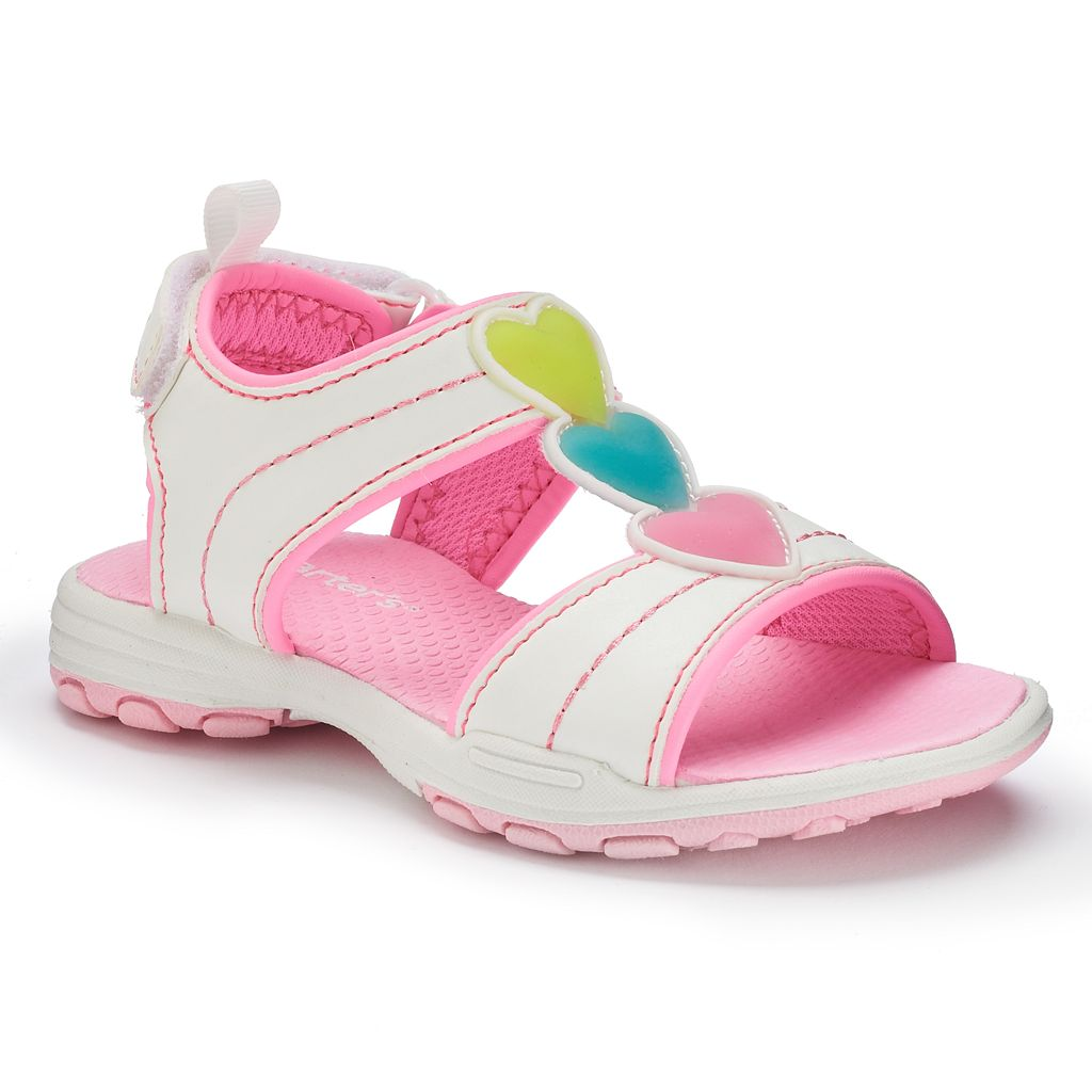 Carter's Sparkly 2 Toddler Girls' Light-Up Heart Sandals