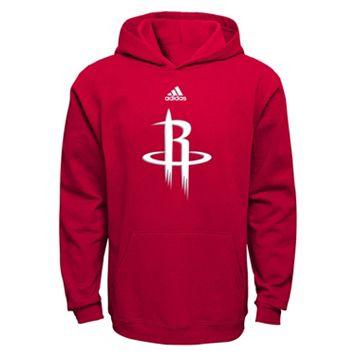 Boys 8-20 adidas Houston Rockets Prime Pullover Fleece Hoodie