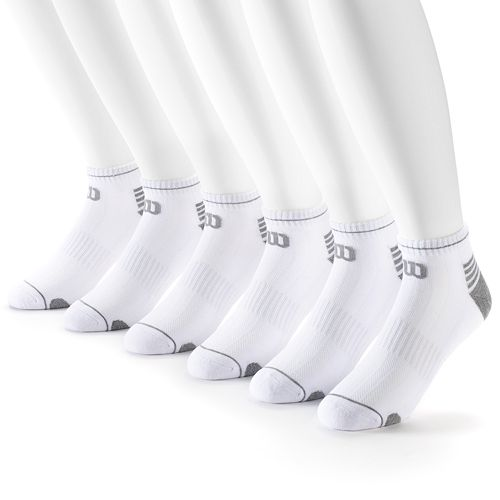 Men's Wilson 6-pack Performance Low-Cut Socks