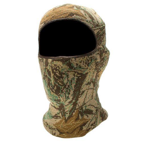 QuietWear Digital Knit Camo One-Hole Mask - Men