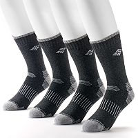 Men's Columbia Sportswear 4-pack Moisture Control Crew Socks