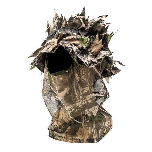 QuietWear Leafy Camo One-Hole Open-Face Mask - Men
