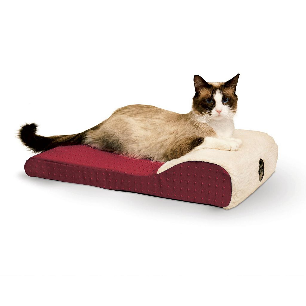 K&H Pet Ultra Memory Orthopedic Chaise Lounger Pet Bed
