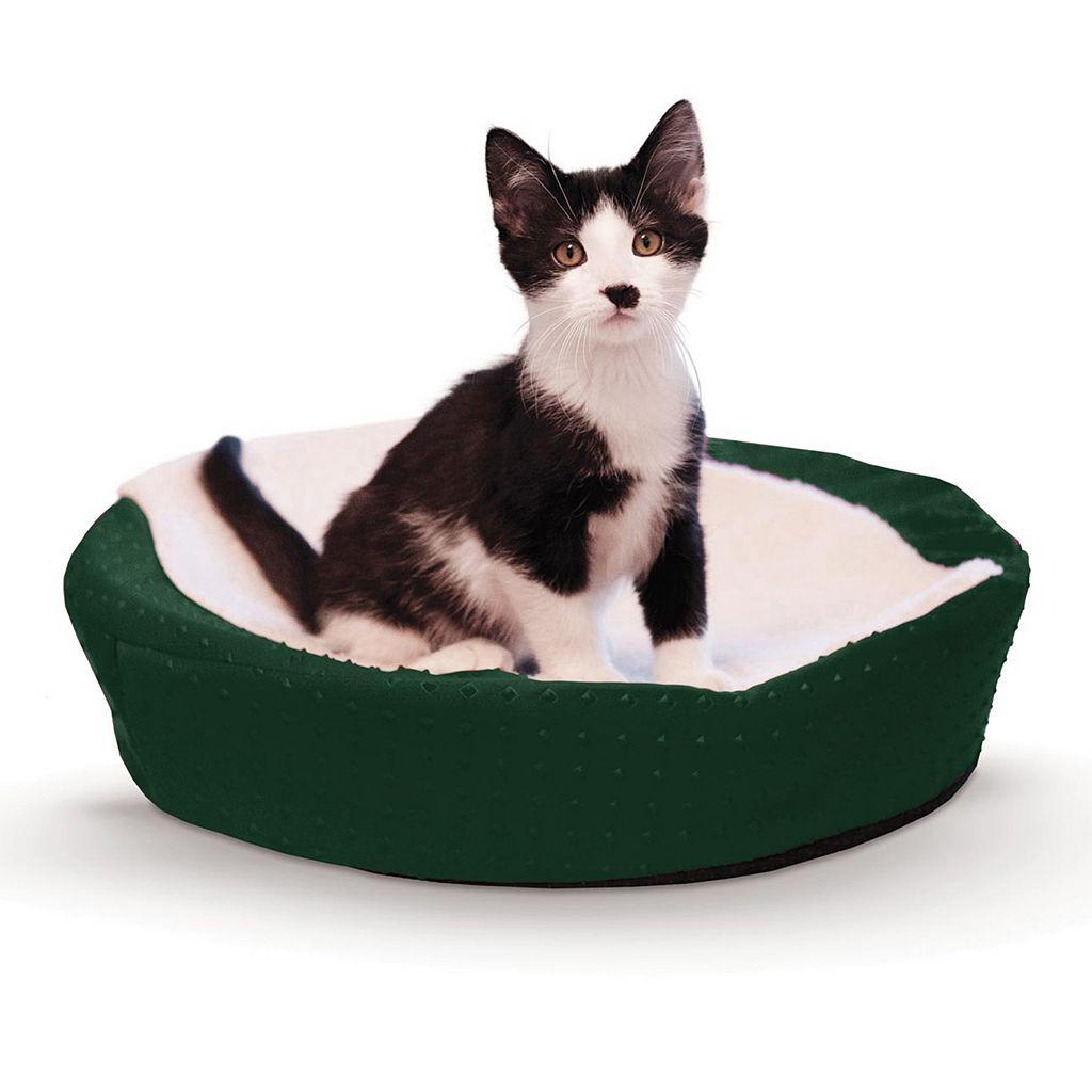 K&H Pet Ultra Memory Orthopedic Round Cuddle Nest Pet Bed