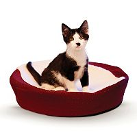 K&H Pet Ultra Memory Orthopedic Round Cuddle Nest Pet Bed