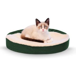 K&H Pet Ultra Memory Orthopedic Oval Cuddle Nest Pet Bed