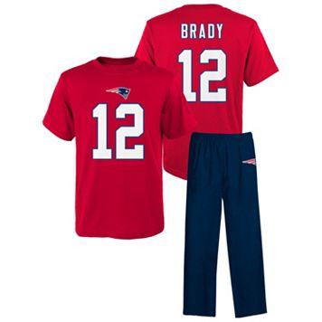 New EnglandPatriots Tom Brady Pajama Set - Boys 4-7x