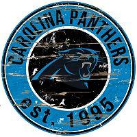 Carolina Panthers Distressed 24