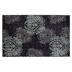 Linon Milan Scroll Rug