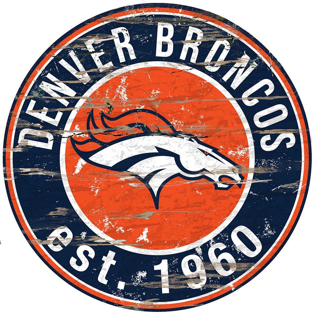 Denver Broncos Distressed 24