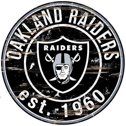 Oakland Raiders Distressed 24