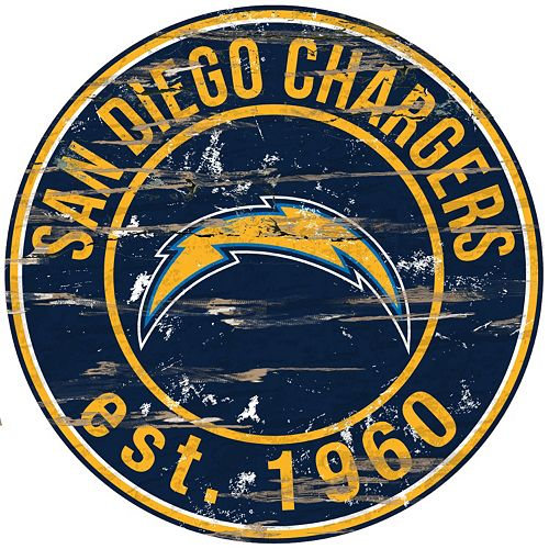 San Diego Chargers Distressed 24