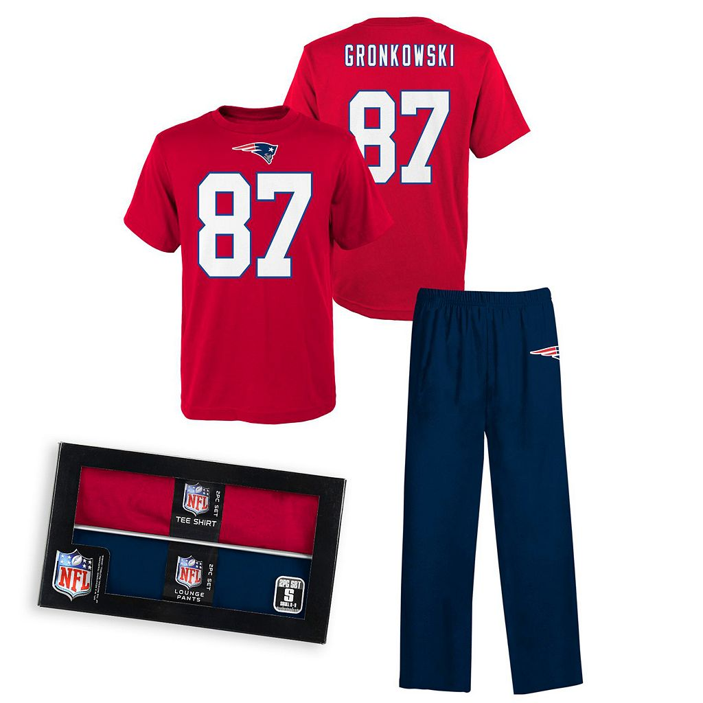 New EnglandPatriots Rob Gronkowski Pajama Set - Boys 8-20