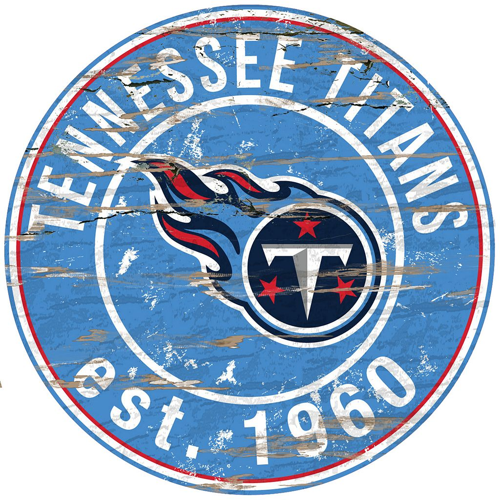 Tennessee Titans Distressed 24