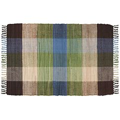 Park B. Smith Chindi Plaid Rug