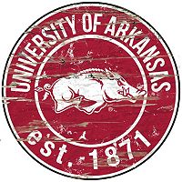 Arkansas Razorbacks Distressed 24