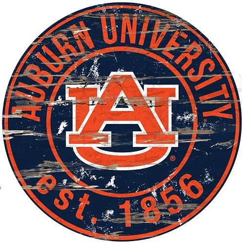 Auburn Tigers Distressed 24