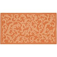 Safavieh Courtyard Ivy Vines Indoor Outdoor Rug
