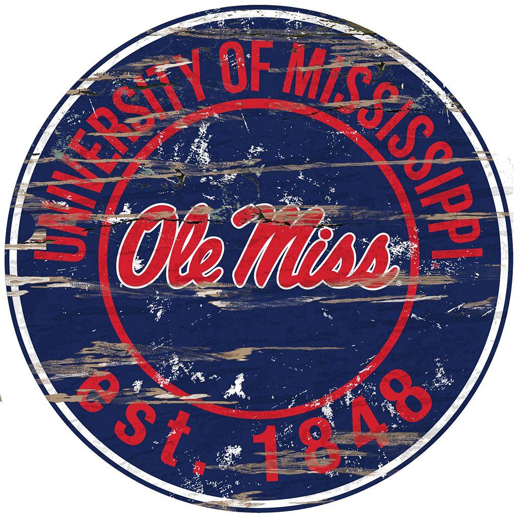 Ole Miss Rebels Distressed 24