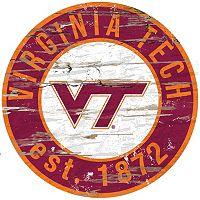 Virginia Tech Hokies Distressed 24