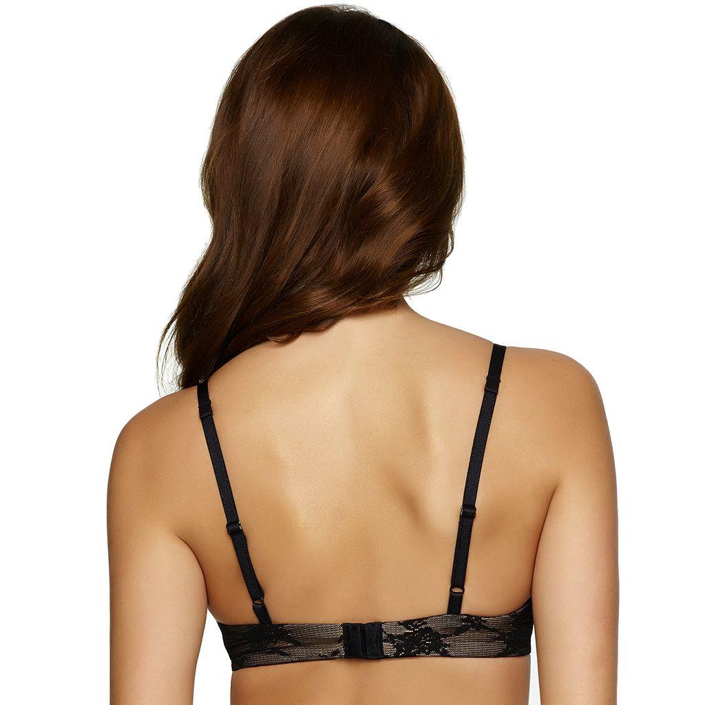 Paramour by Felina Bra: Parisienne Lace Full-Figure Contour Plunge Bra 150695