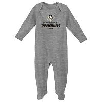 Baby Reebok Pittsburgh Penguins Thermal Sleep & Play