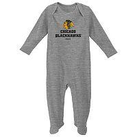 Baby Reebok Chicago Blackhawks Thermal Sleep & Play